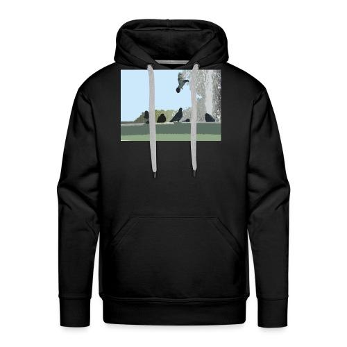 Chillin' pigeons - Mannen Premium hoodie