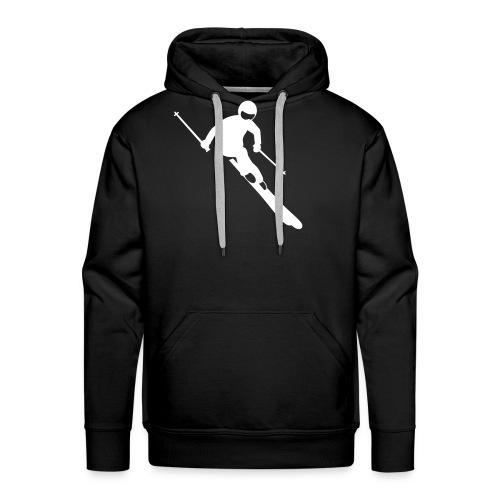 Skifahrer - Männer Premium Hoodie