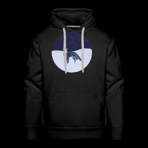 Blue fox - Miesten premium-huppari
