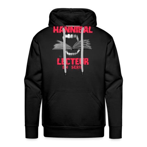 HANNIBAL LECTEUR - Sweat-shirt à capuche Premium pour hommes