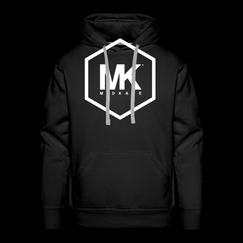 MK LOGO WIT - Mannen Premium hoodie