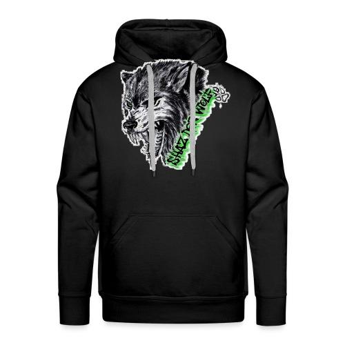 Shaz Der Wolf - Männer Premium Hoodie