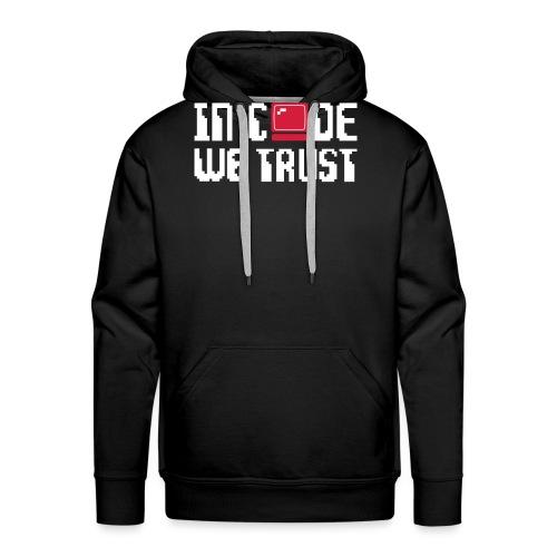 Geek - Sweat-shirt à capuche Premium pour hommes