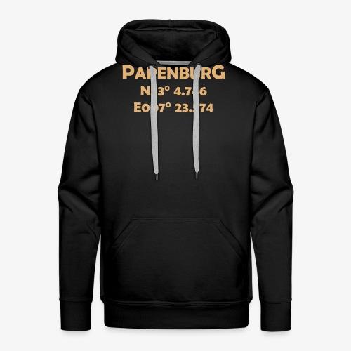 papenburg_coords - Männer Premium Hoodie