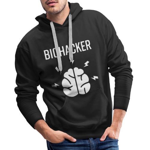 Biohacker Biohacking Geschenk Lifestyle Keto Shirt - Männer Premium Hoodie