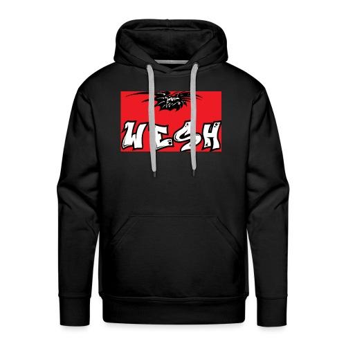 Wesh - Sweat-shirt à capuche Premium pour hommes