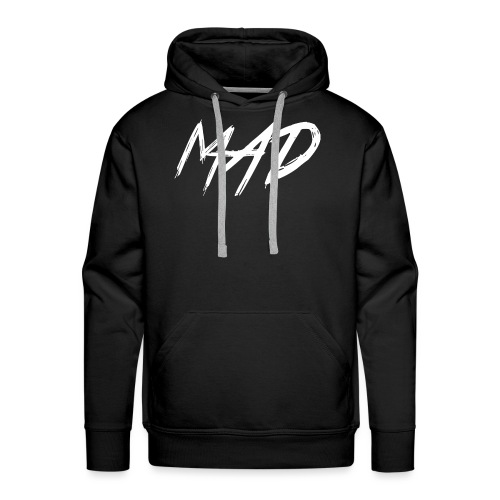 White and black - Mannen Premium hoodie