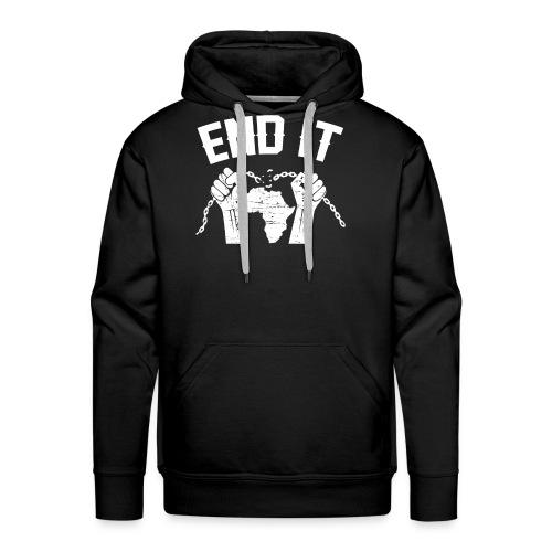 BANTU édition - Sweat-shirt à capuche Premium pour hommes