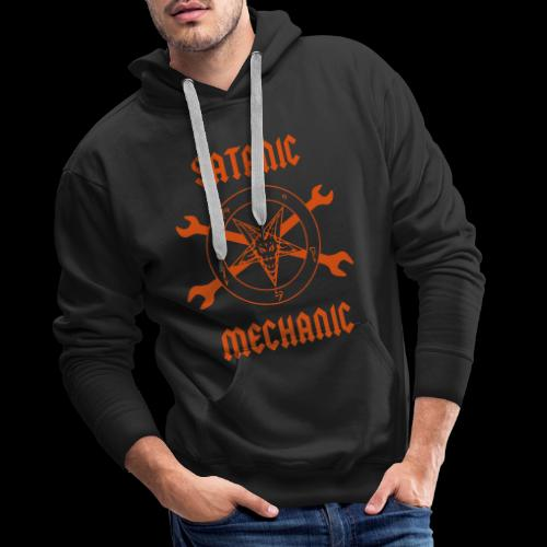 Satanic Mechanic Vector - Men's Premium Hoodie
