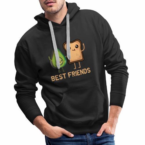 Avocado-Toast Shirt für Avocado-Liebhaber - Männer Premium Hoodie