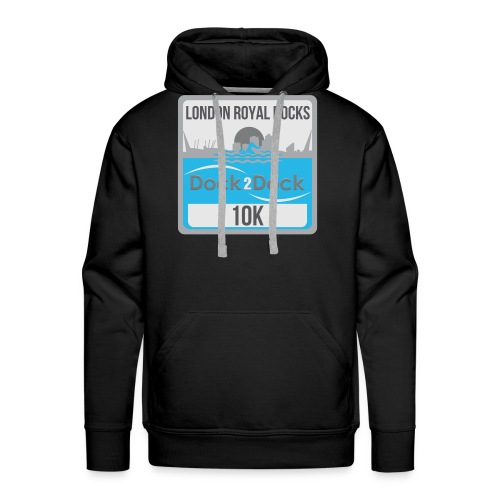 DOCK 2 DOCK CLASSIC BADGE - Men's Premium Hoodie