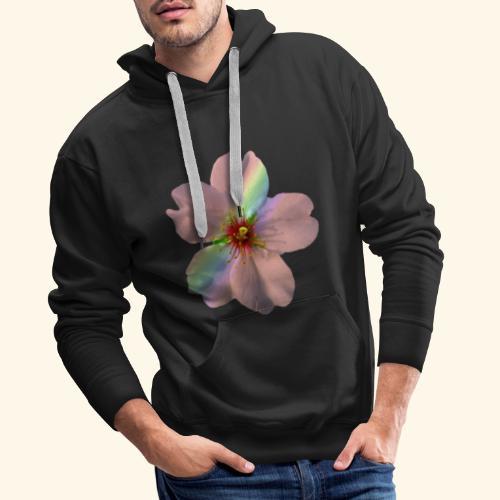zauberhafte Blüte in coral, Regenbogen - Männer Premium Hoodie