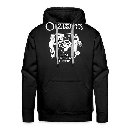 OKZITANIS WAPPENSPRUCH - Männer Premium Hoodie