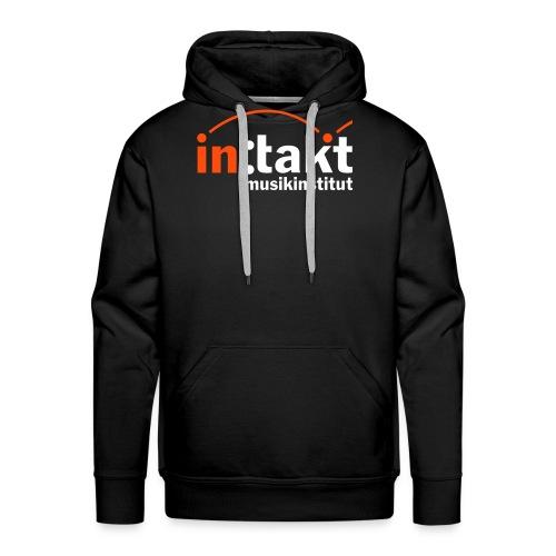 intakt Logo invert - Männer Premium Hoodie