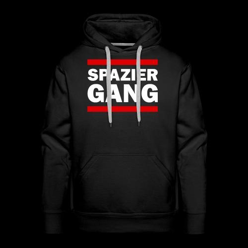 Spazier-Gang - Männer Premium Hoodie