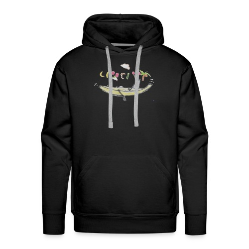 Personalized with Small Personal Drawings - Men's Premium Hoodie