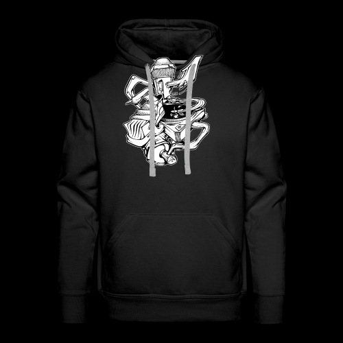 The Real HipHop Elements - Männer Premium Hoodie
