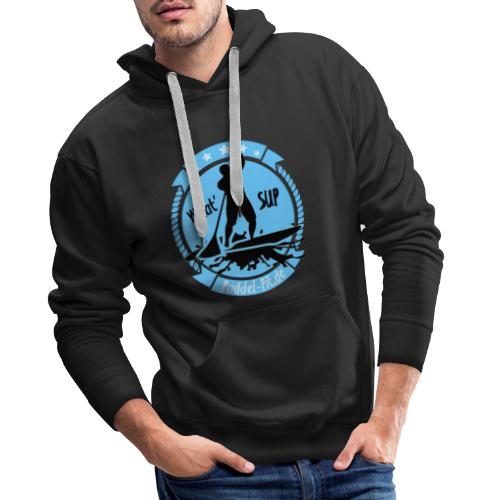 What`SUP. SUP Board Stand Up Paddling Sport - Männer Premium Hoodie