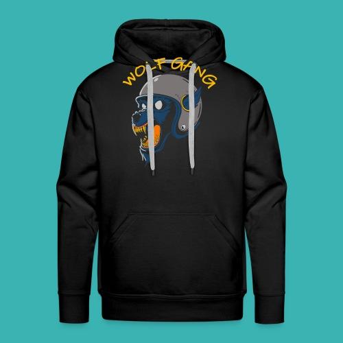 wolf gang willys workshop - Sweat-shirt à capuche Premium pour hommes