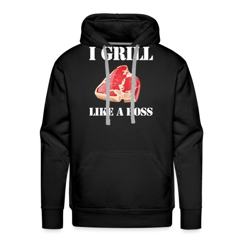 I grill like a boss - Men's Premium Hoodie