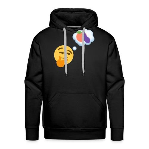 Johtaja98 Emoji - Miesten premium-huppari