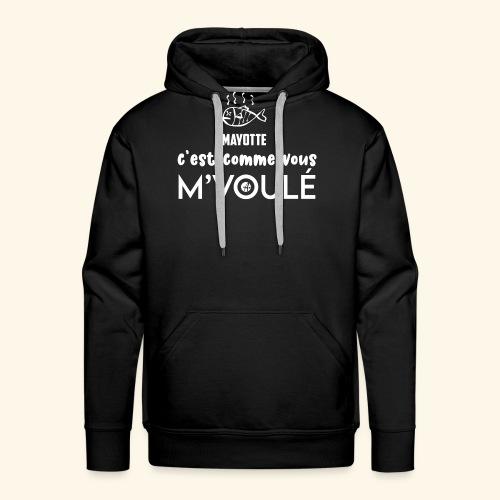 MAYOTTE MVOULE - Sweat-shirt à capuche Premium pour hommes