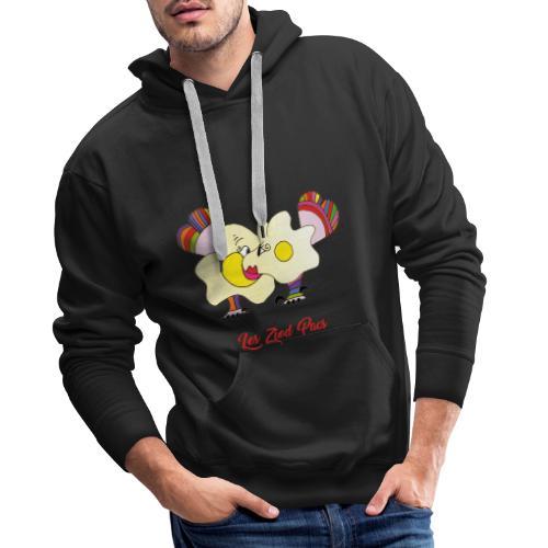 Les Ziod Pacs - Sweat-shirt à capuche Premium pour hommes