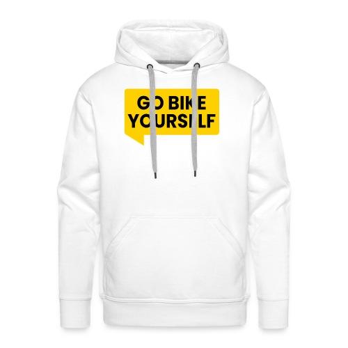 go bike yourself - Männer Premium Hoodie