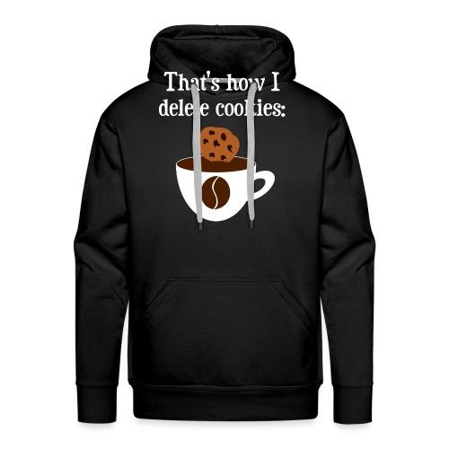 Cookies Kaffee Nerd Geek - Männer Premium Hoodie