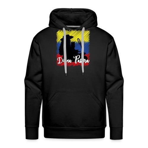 bandera - Sudadera con capucha premium para hombre