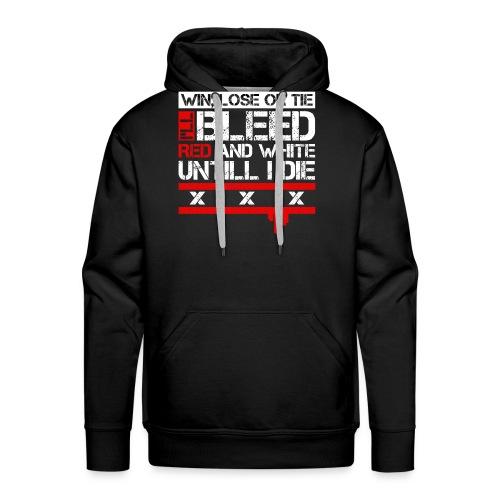Ajax 'Bleeding' Collectie - Mannen Premium hoodie