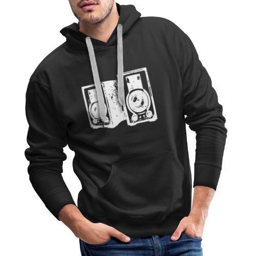 DJ Symbol Musikboxen Musik Lautsprecher - Männer Premium Hoodie