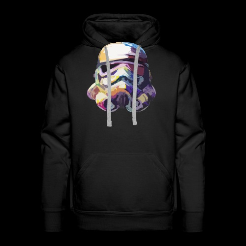 Stormtrooper with Hope - Men's Premium Hoodie