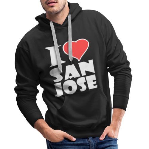 I love San Jose - Männer Premium Hoodie
