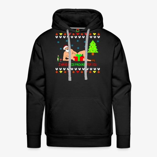 Sexy Romantic Santa Ugly Xmas - Männer Premium Hoodie