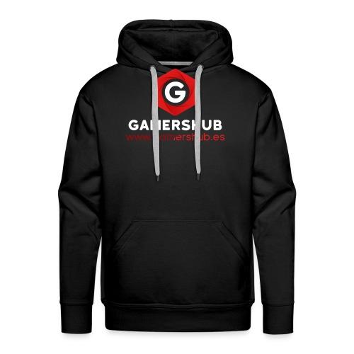 GamersHUB Oficial Promocional - Sudadera con capucha premium para hombre