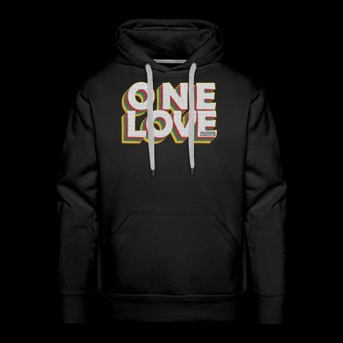 ONE LOVE - Männer Premium Hoodie