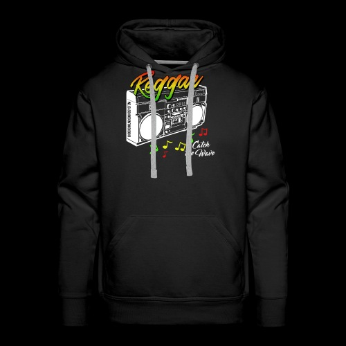 Reggae - Catch the Wave - Männer Premium Hoodie