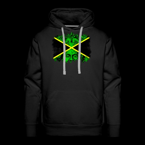LION BOB JAMAICA - Männer Premium Hoodie