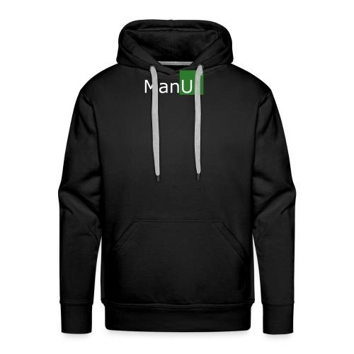 Manu - Sweat-shirt à capuche Premium pour hommes