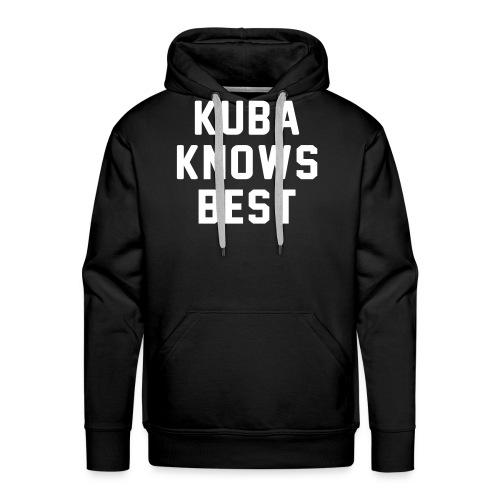 kubaknowsbest - Mannen Premium hoodie