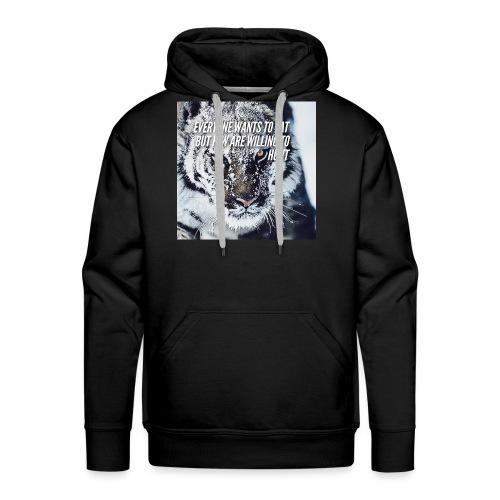 Eat Hunt - Mannen Premium hoodie