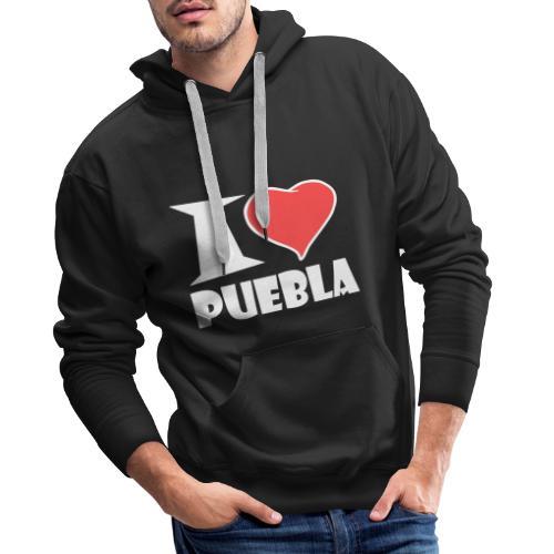 I love Puebla - Männer Premium Hoodie