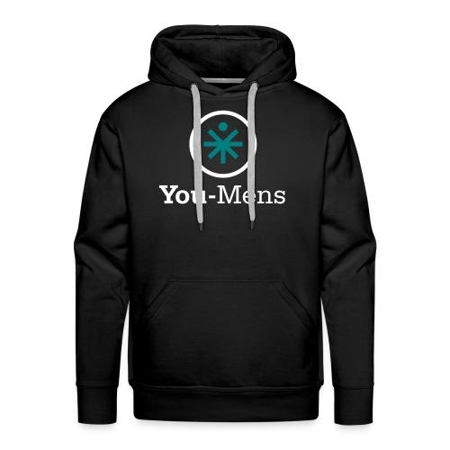 You-Mens logo 2 kleuren F - Mannen Premium hoodie