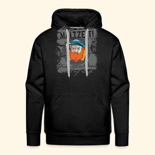 Whisky T Shirt Design Maltzeit - Männer Premium Hoodie