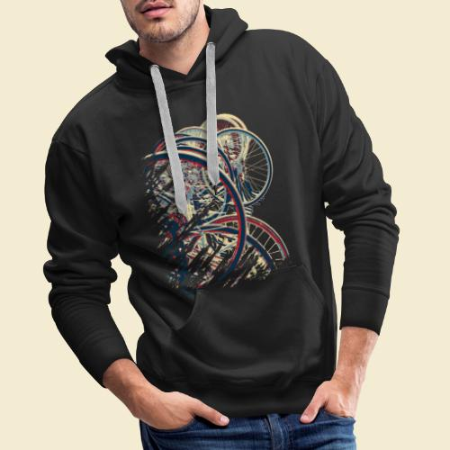 Radball | Cycle Ball Break 1 - Männer Premium Hoodie