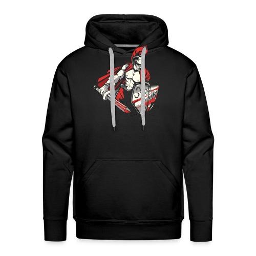 Römischer Soldat Krieger . SPQR - Männer Premium Hoodie