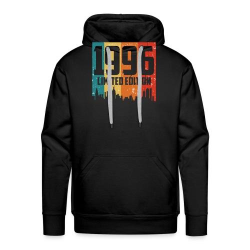 Vintage Geburtstag Limited Edition Jahrgang 1996 - Männer Premium Hoodie