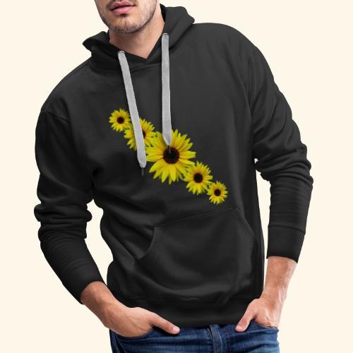 Sonnenblume, Sonnenblumen, Blumen - Männer Premium Hoodie