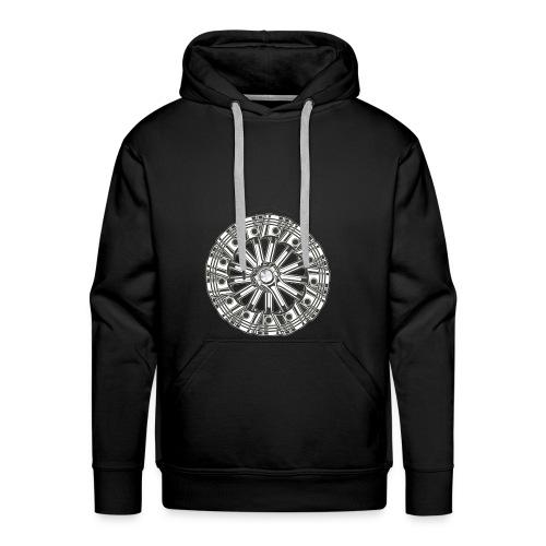 zuiger rol - Mannen Premium hoodie